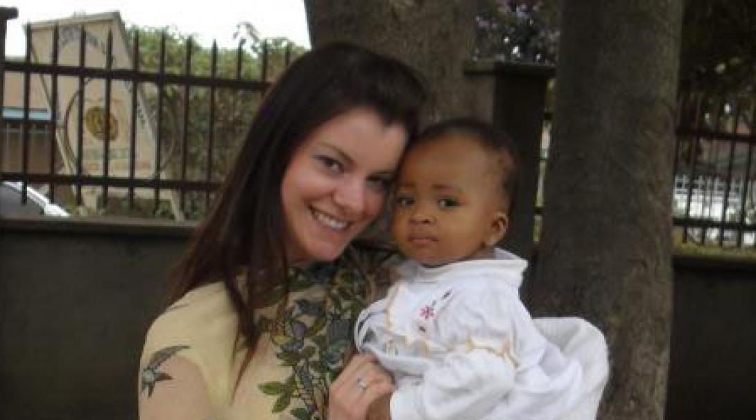 Laura M in Tanzania